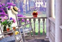 Love to have a porch / by Barbara Courtney