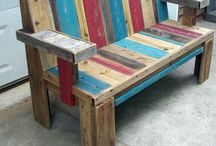 Pallet Crazie / I want to build all this stuff!! / by Carol Hayes