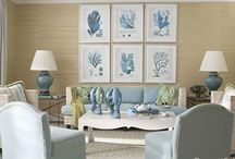 Coastal decorating / Interior decoration