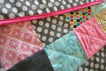 Sewing quilts & baby things / by Aly Whelchel