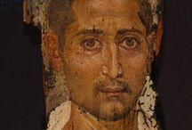 Egyptian Fayoum (Fayum) Portraits / by Leslie Greene