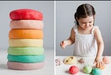 Rainbow DIY / DIY tips & tricks for the whole family- make your own play dough, teepees, salad dressings...