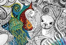 ColourAway Colouring In Posters and Designs / Australian-designed and manufactured colouring-in posters by local artist Lou Trevitt. Each A1 poster is printed on FSC certified paper and comes with 12 trend-inspired brush-stroke pens. ColourAway provides a breath-taking amount of detail in a calm but detailed approach that will provide hours of enjoyment. In each poster Lou shares her love of design and provides a platform for a relaxing colouring-in experience. http://www.axistoys.com/ColourAway