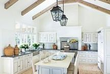Dream Kitchens / The kitchen of our dreams. We all have a kitchen that we dream of one day having. Let these kitchens inspire you to redesign and work towards creating the kitchen of your dreams.