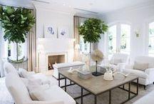 Beautiful Interiors / Gorgeous home interiors we absolutely love. Clean, fresh, elegant interiors.