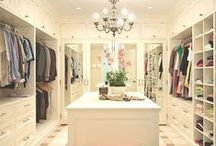 Glamorous Closets / Create the ultimate closet of your dreams. Walkin closets to die for. Ultimate closet designs that every woman (and man) will love!