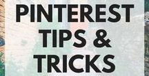 PINTEREST TIPS AND TRICKS / Articles all about Pinterest 101, Pinterest strategy, and how to use Pinterest. If you're looking for Pinterest tips for beginners, look here!