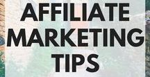 AFFILIATE MARKETING TIPS / Tips and strategies to monetize your blog with passive income, and start earning money with affiliate marketing.
