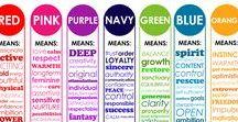 Color psychology / #color #psychology #emotional
