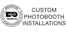 Custom Photobooth Installations / Custom Digital Photo Booths by MVS Studio for Events and Brand Activations Across the World!