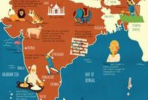 Maps - Design & Illustration / A collection of illustrated maps from around the world.