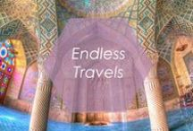 Endless Travels / Wanderlust best describes this board. Here at Foxy, we are constantly being inspired by our travels, not to mention searching for new and exciting places to explore.