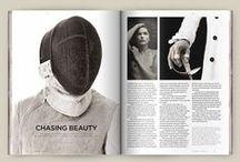 Graphic Design - Magazine Layout / Graphic design of magazine layout
