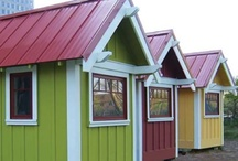 Tiny Houses, Handmade Houses / Have fascinated me all my life / by Dru Nichols