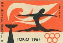 Graphic Design -  Olympic Games / Graphic Design from the Olympic Games - posters, stamps, logos.