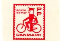 Graphic Design - Illustrated Stamps / A collection of illustrated stamp designs.