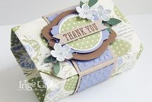 Pillow Box and Packaging Ideas / Pillow Boxes, Curvy Keepsake boxes, bags, anything you can put stuff in. / by Jill Hanna