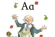 A is for Alphabet / The art of alphabet illustrations and ABC books.