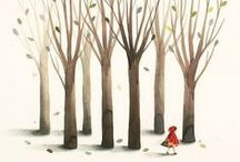 Fairy Tales & Folk Tales / Illustration and design from children's fairy tales and international folk tales.