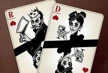 Board & Card Game Design / Illustration and design of board games and card games.