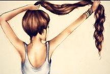 Hair! / I'm a hair nut.  / by Geordilynn Couto