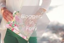 Bloggers in Foxy / Style shots of Foxy jewelry and bloggers wearing Foxy!