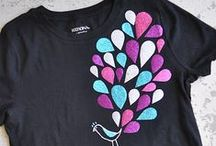 Textiel : Flock, applicatie en verf! / Voor shirts en andere textiel vormen!