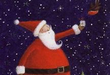 Santa Art & Illustration / A collection of illustrated Christmas and Santa related illustrations, artwork and designs.