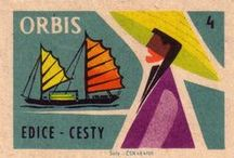Matchbox Covers / Artwork and illustrations from retro matchbox covers.