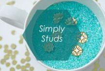 Simply Studs / By Foxy Originals / by Foxy Originals