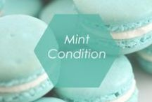 Mint Condition / We love the mint trend! Pair your favorite mint pieces this season with mint jewelry from Foxy Originals.