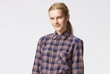 Uniqlo Flannel / Fun and functional, flannel offers new styles and a casual appeal, playfully mixing patterns in single garments.