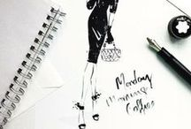 Fashion Illustrations / If only I can draw like that
