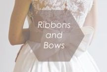 Ribbons & Bows / We at Foxy love how the addition of bows can add a feminine feel to any outfit.