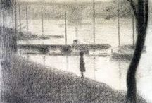 Artist - Georges Seurat / One of my favourites artists, Frenchman Georges Seurat.