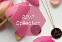 "RSVP Collection / You'll be set to check ""YES!"" on the RSVP box for the hottest party in town with Foxy's new collection of necklaces and earrings. Complete with confetti in each package, open one up to sparkle and shine while you toast to the evening's festivities!  http://www.foxyoriginals.com/RSVP.html / by Foxy Originals"