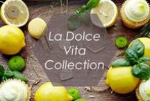 La Dolce Vita Collection / Live life to the fullest with Foxy's La Dolce Vita. Let the pieces in this collection take you to a place where you can slow down, indulge and relax. Whether you're dreaming your day away in the Tuscan sun, or enjoying a lavishly long lunch, it;s about doing it while delighting it in the finest style.  http://www.foxyoriginals.com/Dolce-Vita.html