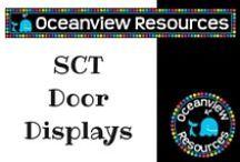 SCT Classroom Door Display
