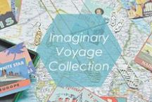 Imaginary Voyage Collection / Feel like day dreaming about your next vacation? Let the jewelry in this collection inspire your imagination to travel the world. Get out the map and start planning tour your trip to Europe, Australia, Africa and beyond... There's so much to see. Bon Voyage!  / by Foxy Originals
