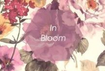 // IN BLOOM // / by Foxy Originals