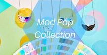 Mod Pop Collection / Love patterns as much as we do? These playful bib necklaces add the perfect pop of art to any outfit.