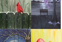 Paint Nite Paintings