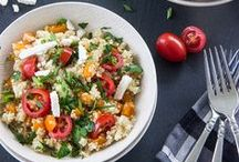 Clean & Whole: Summer Dishes / Clean, healthy, whole, plant-strong recipes featuring fresh seasonal summer ingredients.