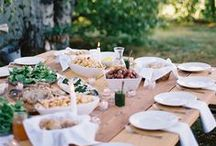 Inspire: Tablescapes / Beautiful inspiration for table design for home decor and special events.