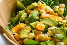 Salad / by SilverSwanBabies