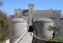 Medieval City Rhodes Island Greece  / Rhodes Island Greece - The Medieval City