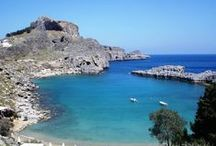East Coast Rhodes Island Greece