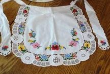 Smockin', Smokin' Aprons / Love, love, love aprons and smocks! / by Eileen Sayther-West