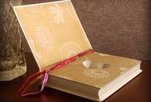 Ring Bearer Books / ♥ A Ring Bearer Book is  the perfect way to open a wonderful new chapter of your unique love story.  ♥  Each Ring Bearer Book is precision crafted by hand and comes with a magnetic closure so your rings will journey safely down the aisle.  ♥ Shop now with Fast & Free USA Priority Mail shipping at: SecretSafeBooks.com and SecretSafeBooks.Etsy.com ♥