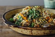 Clean & Whole: Quinoa & Ancient Grains / Quinoa (and other ancient grains) recipes made from fresh, clean, healthy, whole, plant-strong ingredients.